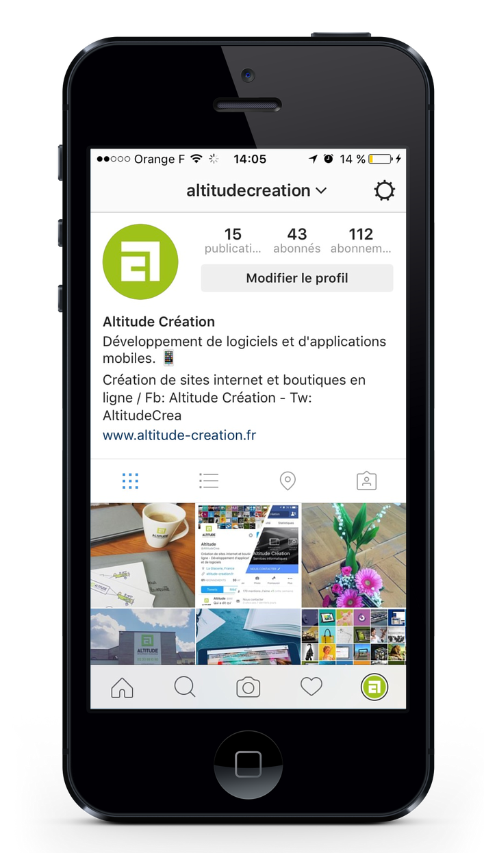 instagram altitude
